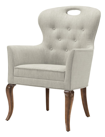Belle Meade Signature - Phoebe Button Tufted Arm Chair - 4061A