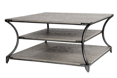 Belle Meade Signature - Mercer Industrial Loft Cocktail Table - 5009