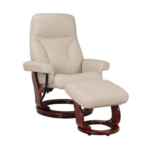 Benchmaster Furniture - Milano Taupe Swivel Gldier - 7440-032-29