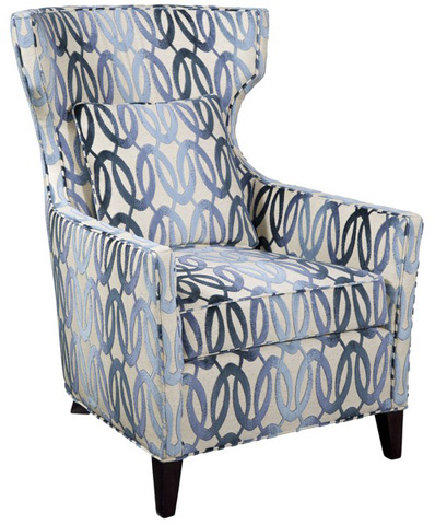 Emerson Bentley - Goodman Wing Chair - 1306-01