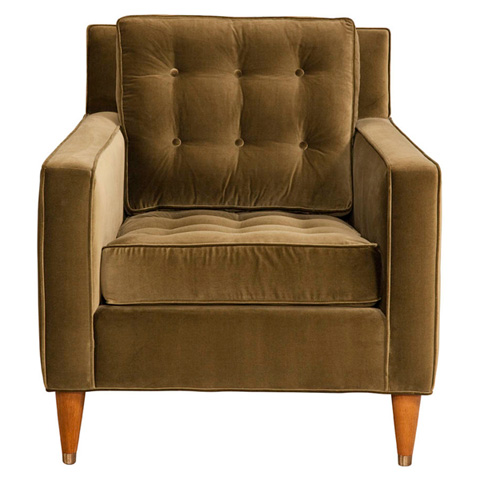 Emerson Bentley - Dali Tufted Club Chair - 356-01