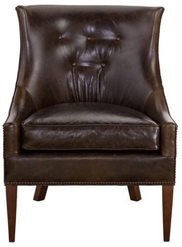 Emerson Bentley - Harrison Leather Chair - 735-01