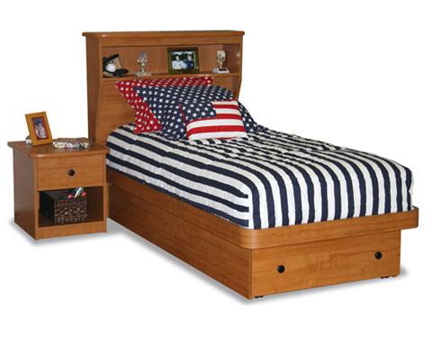 Berg Furniture - Twin Platform Bed - 22-68-18