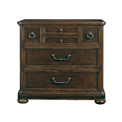 Bernhardt - Vintage Patina Three Drawer Bachelor's Chest - 322-230B