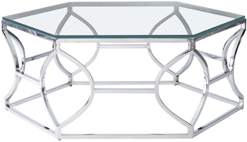 Bernhardt - Argent Metal Cocktail Table - 326-021