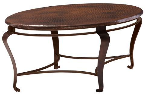 Bernhardt - Clark Oval Cocktail Table - 477-013