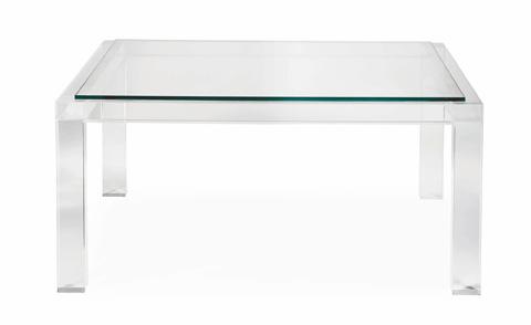 Bernhardt - Moderne Square Cocktail Table - 340-008