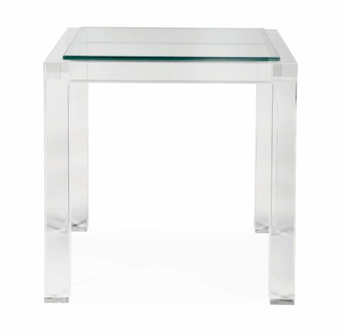 Bernhardt - Moderne Square End Table - 340-018