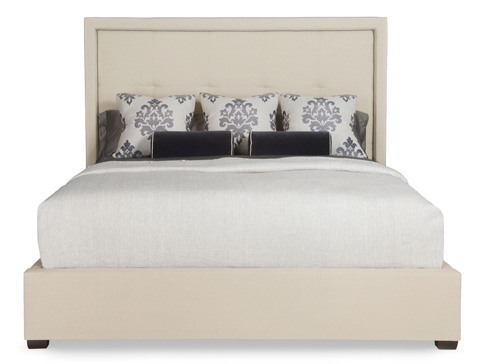 Bernhardt - Drake Upholstered Bed - 344-H66/FR66