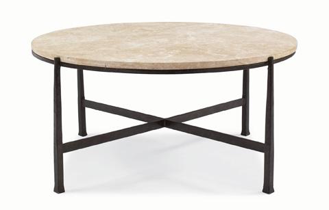 Bernhardt - Duncan Round Metal Cocktail Table - 418-016S/016