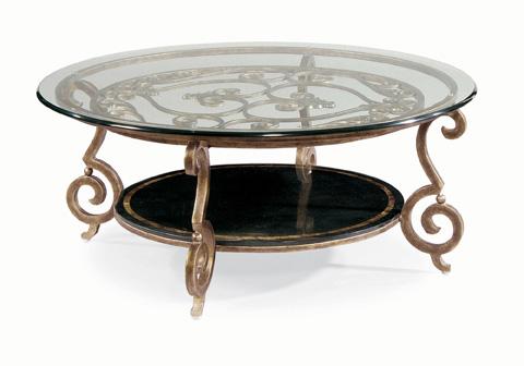 Bernhardt - Zambrano Round Cocktail Table - 582-015/016