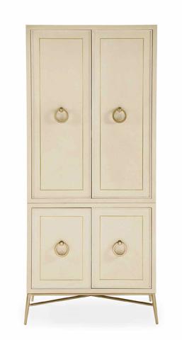 Bernhardt - Salon Door Cabinet Deck and Base - 341-142, 341-141