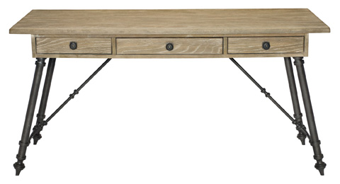 Bernhardt - Antiquarian Desk Top and Metal Base - 365-510T, 365-510