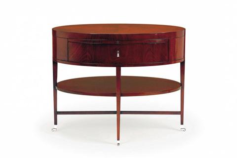 Bolier & Company - Rosenau Oval Side Table - 56029