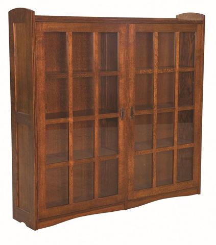 Borkholder Furniture - Bungalow Bookcase with Double Door - 13-2908XXX