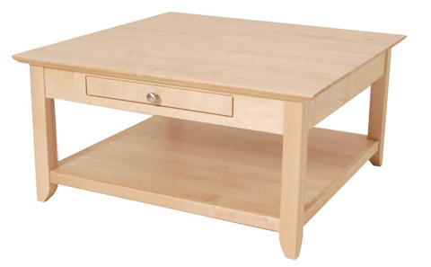 Borkholder Furniture - Bridgeport Square Coffee Table - 16-2506XXX