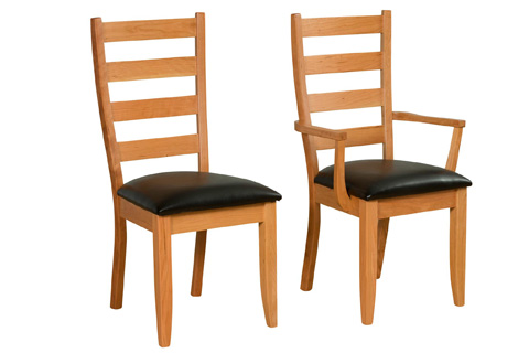 Borkholder Furniture - Legacy Ladderback Side Chair - 16-9024SCX