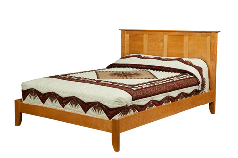 Borkholder Furniture - Fifth Ave Queen Platform Bed - 19-1501QPX