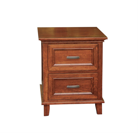 Borkholder Furniture - Livingston Two Drawer Nightstand - 23-1602XXX