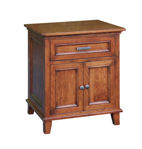 Borkholder Furniture - Livingston One Drawer Two Door Nightstand - 23-1604XXX