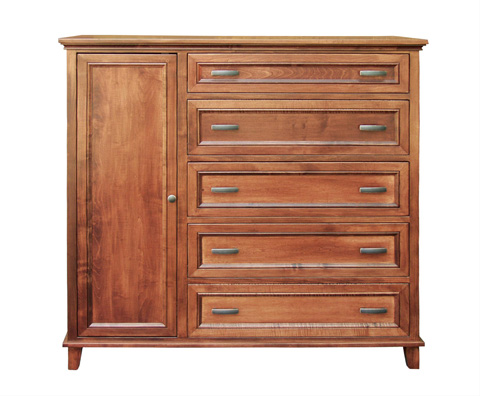 Borkholder Furniture - Livingston Gentleman's Chest - 23-1802XXX