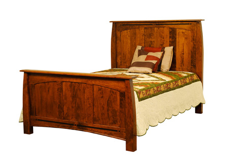 Borkholder Furniture - Signature Queen Panel Bed - 30-1501QXX
