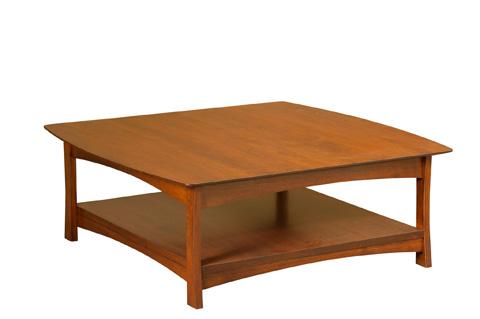Borkholder Furniture - Manhattan Square Coffee Table - 38-2504XXX
