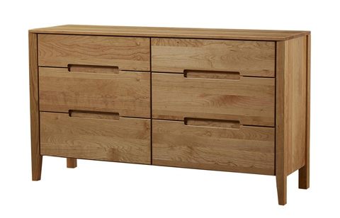 Borkholder Furniture - Transitions Six Drawer Dresser - 40-1701XXX
