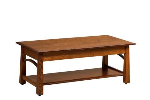 Borkholder Furniture - Madison Coffee Table - NC-2504XXX