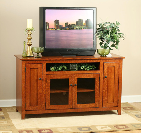 Borkholder Furniture - Modern Mission TV Stand - NC-2606XXX