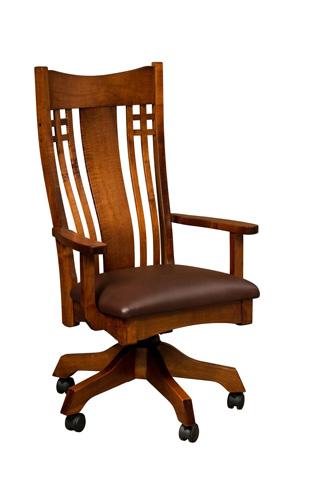 Borkholder Furniture - Larson Desk Chair - NC-2804XXX