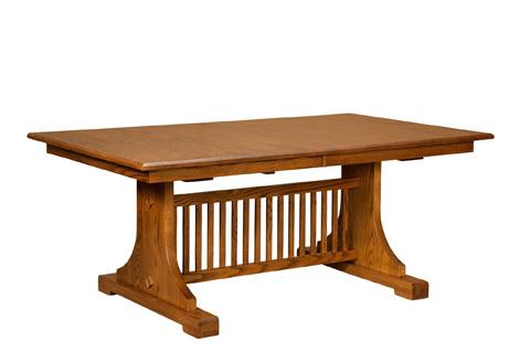 Borkholder Furniture - Mission Churchill Table - NC-8016LF1