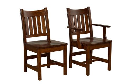 Borkholder Furniture - Dunkirk Side Chair - NC-9014SCX