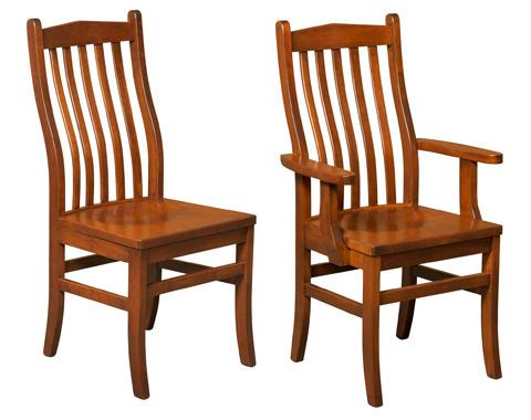 Borkholder Furniture - Lincoln Side Chair - NC-9026SCX