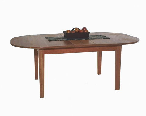 Borkholder Furniture - First Settlers Oval Dining Table - 16-8004LF2