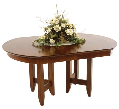 Borkholder Furniture - Homestead Dining Table - 16-8014LF2