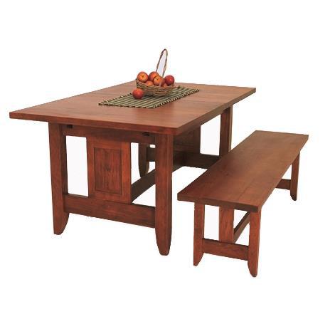 Borkholder Furniture - Reunion Trestle Dining Table - 16-8024LF3