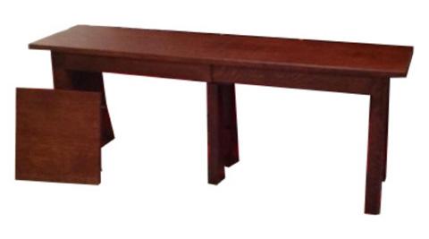 Borkholder Furniture - Highland Solid Top Bench - 21-1403STX
