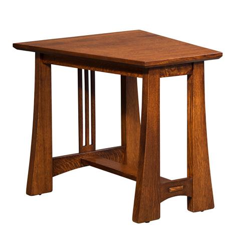 Borkholder Furniture - Highland Wedge Table - 21-2502XXX