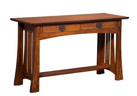 Borkholder Furniture - Highland Sofa Table with Drawer - 21-2504DRX