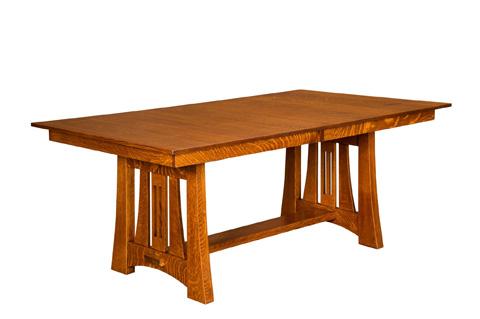 Borkholder Furniture - Highland Solid Top Dining Table - 21-8001STX