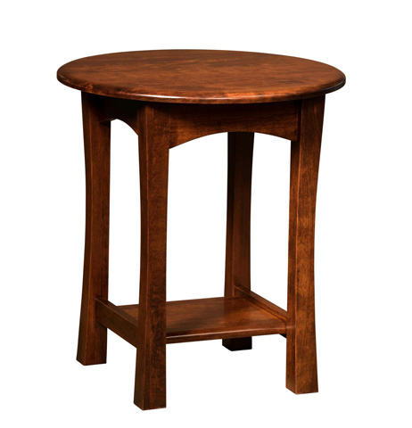 Borkholder Furniture - Greenfield Round End Table - NC-2521XXX
