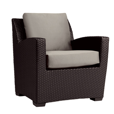 Brown Jordan - Club Chair with Loose Cushions - 2860-6460