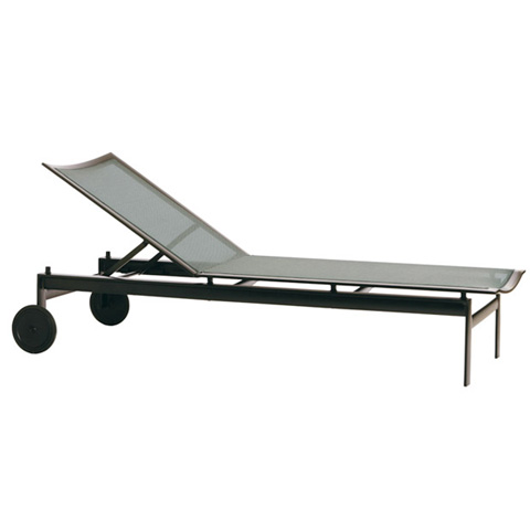 Brown Jordan - Adjustable Chaise with Wheels - 3470-7000