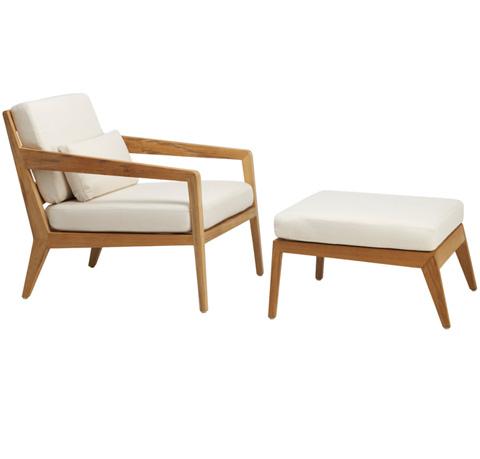 Brown Jordan - Lounge Chair with Loose Cushions - 3900-6000