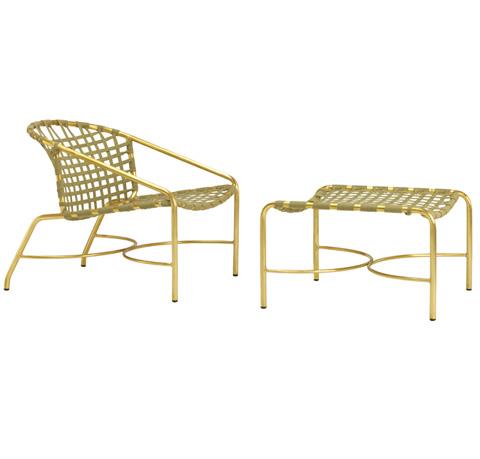 Brown Jordan - Suncloth Strap Lounge Chair - 4390-5000