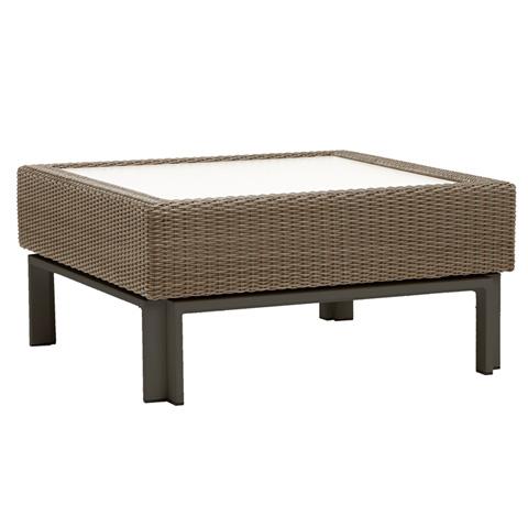 Brown Jordan - Square Coffee Table with Aluminum Top - 5063-3535