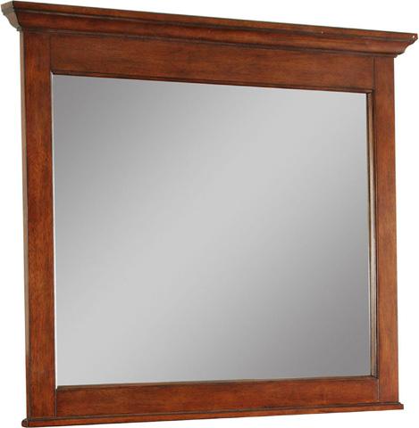 Broyhill Furniture - Landscape Mirror in Light Cherry - 4648-238