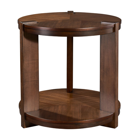 Broyhill Furniture - Round End Table - 3185-002