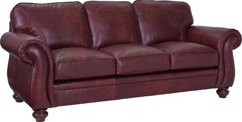 Broyhill Furniture - Cassandra Leather Sofa - L3688-3